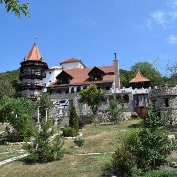 Castelul Lupilor, un château transformé en hébergement, proche de Deva