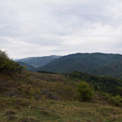 After we have seen the Iulia Hasdeu Castle, we drove across Valea Doftanei.