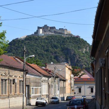 La citadelle de Deva, dans le département de Hunedoara