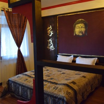 The Japanese room of Lupilor Castle, close to Deva.