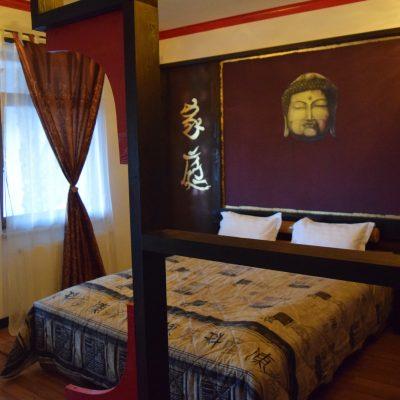 Castelul Lupilor, proche de Deva, la chambre.