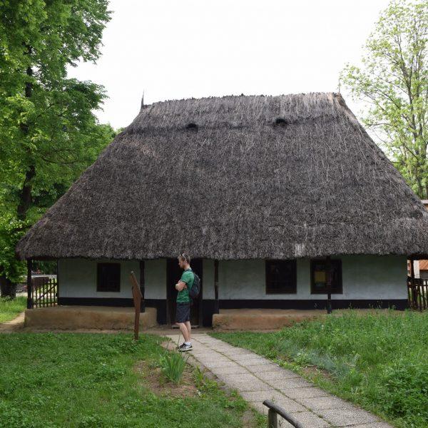 Maison de Moldavie dans le Musee du Village de Bucarest