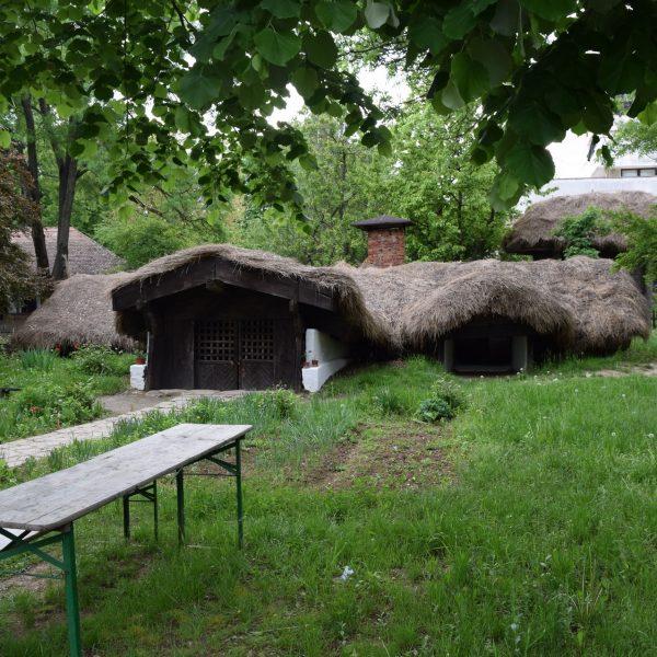 Maison d'Olténie au Musée du village de Bucarest