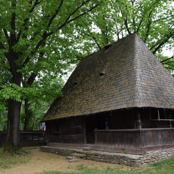 Maison de Transylvanie au Musée du Village de Bucarest