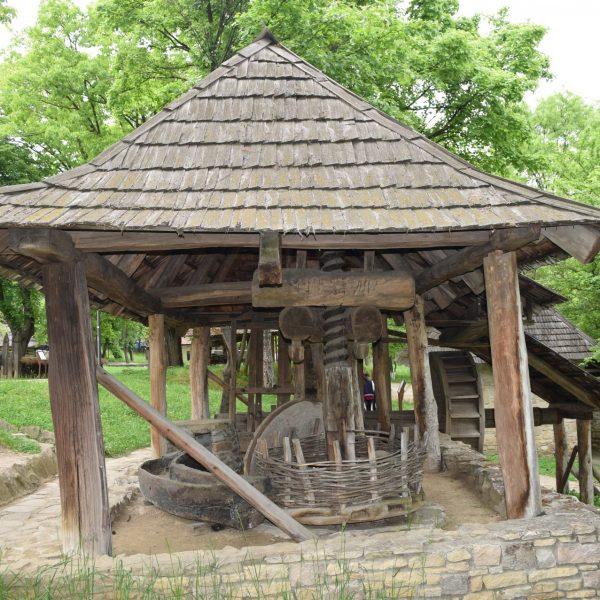 Moulin a huile du Musée du Village