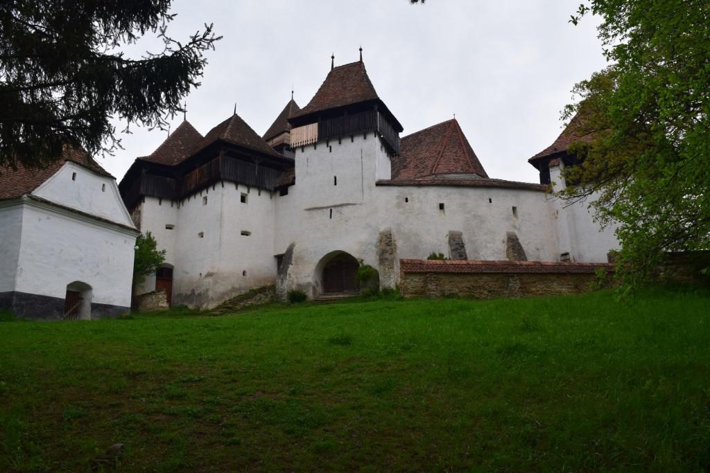 L'église fortifiée de Viscri.