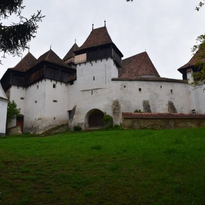 The fortified church of Viscri.