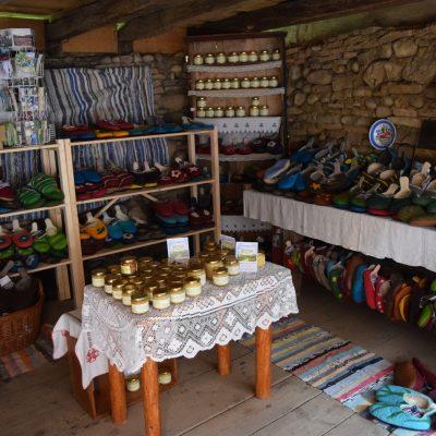 Produits locaux de Viscri.
