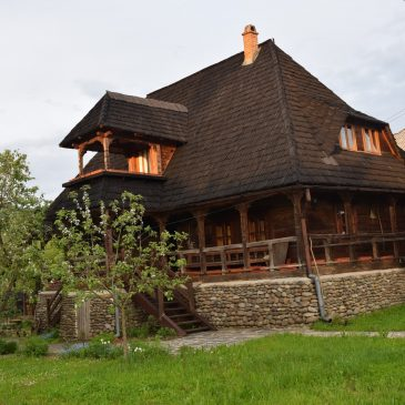 Les chambres d'hôtes de Ioan Borlean, maisons traditionnelles dans le Maramures