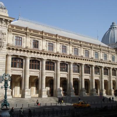 Le Musée d'Histoire de Bucarest.