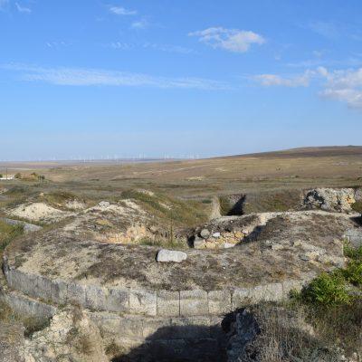 Citadelle Ulmetum. En Tulcea.