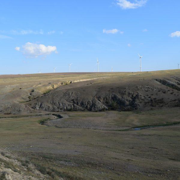 Ulmetum citadel, in Constanta and Tulcea counties.