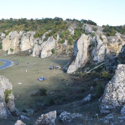 Dobrogea gorges, in Constanta and Tulcea counties.