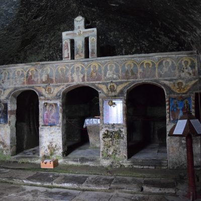 Corbii de Piatra Monastery, with Scoala Iubirii into Arges county.