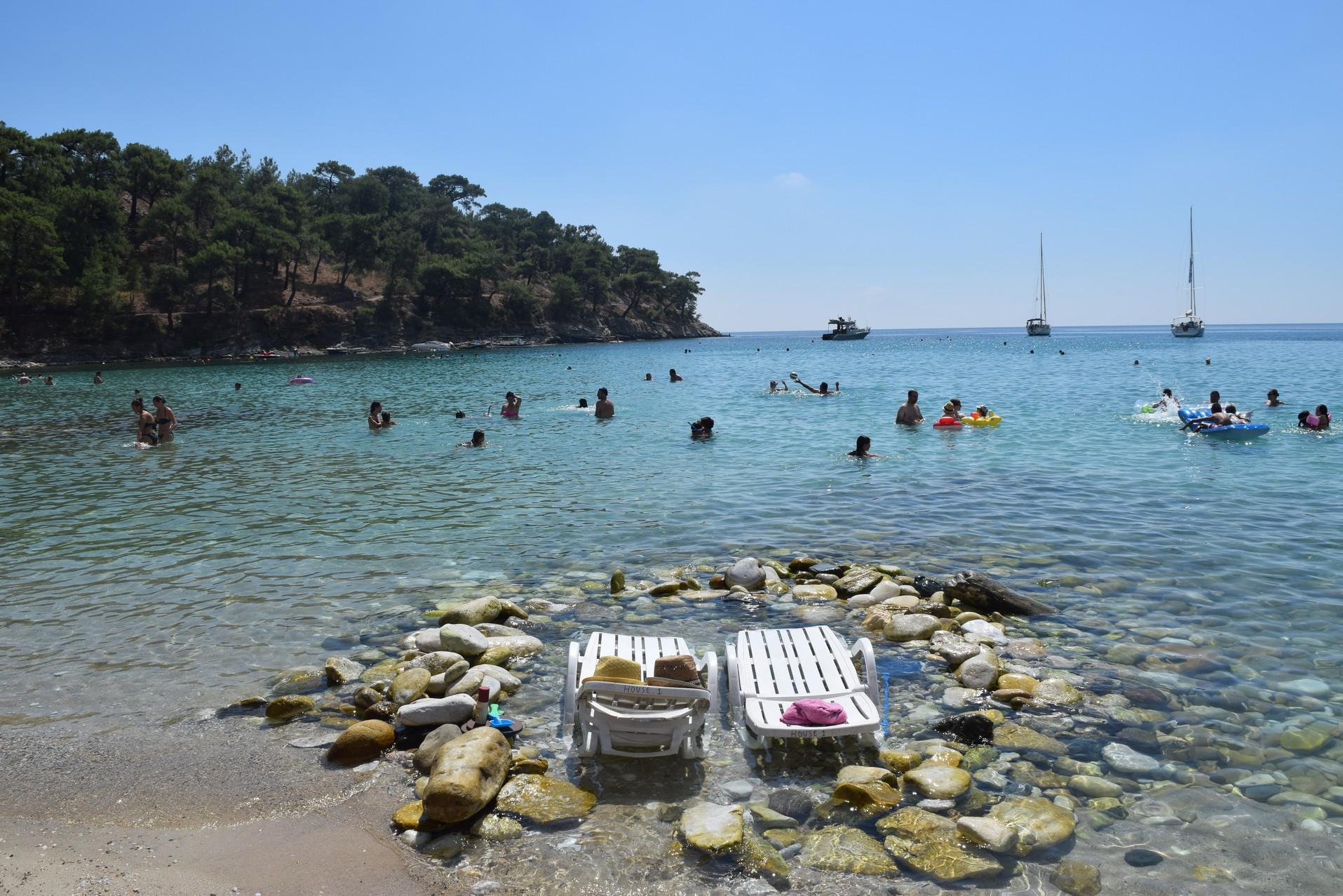 Thassos alyki beach