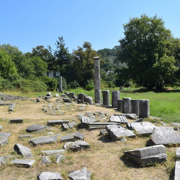 Ancienne Agora de Thassos.