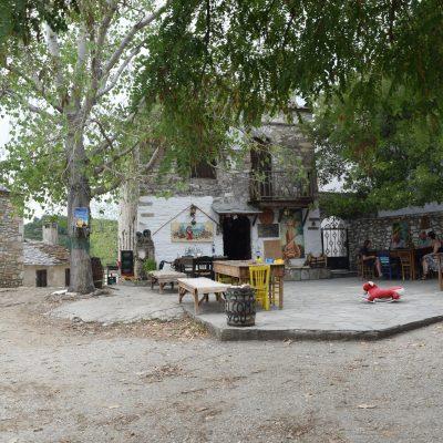 Taverne Kolas, Kastro, a Thassos