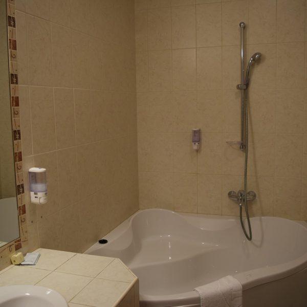 Inside Alinalex Hotel.