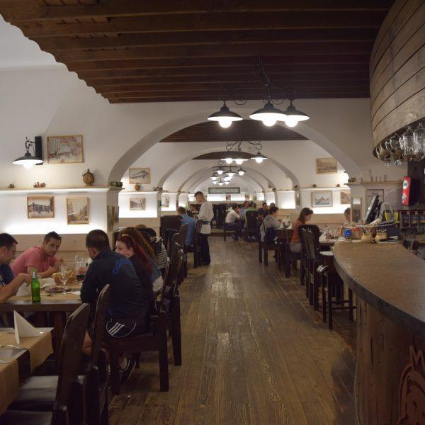 Restaurant Sergiana. Vers Covasna