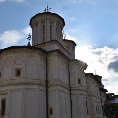Horezu Monastery. Valcea county.