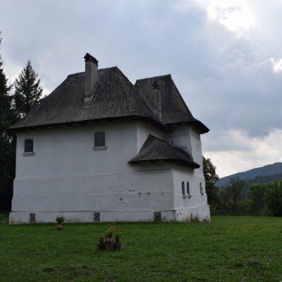 Cula Greceanu, in Maldaresti. Valcea county.