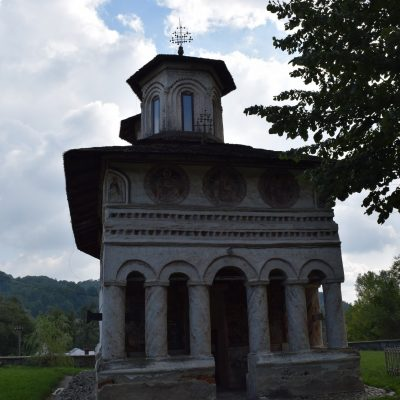 Maldaresti church. Valcea county.