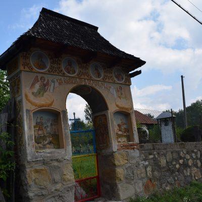 Cimetière de Maldaresti. En Valcea
