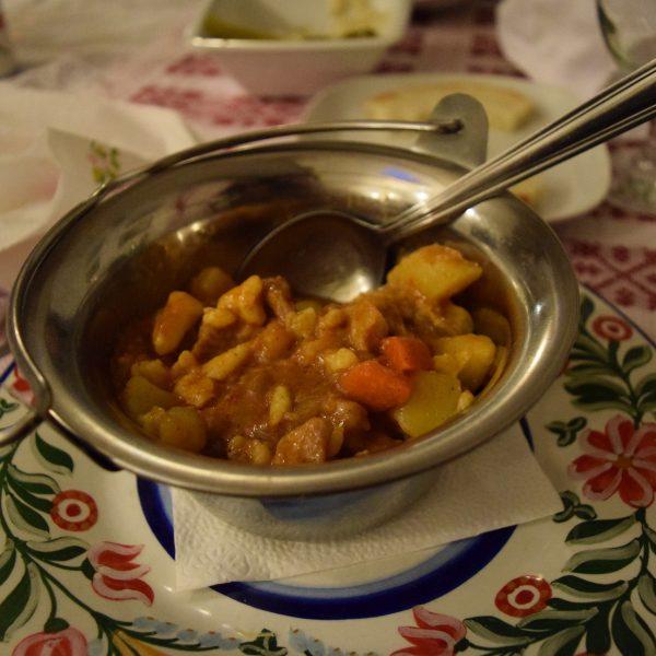 Gizi restaurant, in Odorheiu Secuiesc, Harghita county.