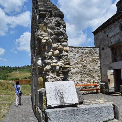 Une vieille église, dans le Judet de Hunedoara.