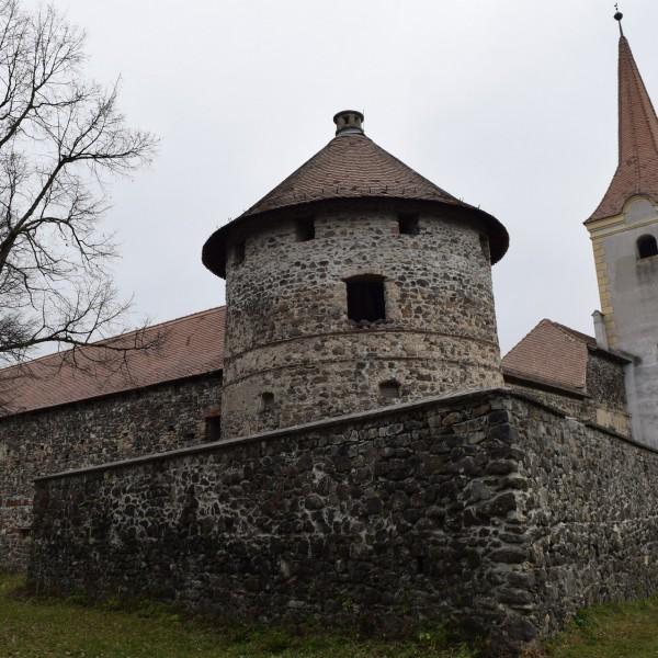 Le château Bethlen à Racos. Brasov