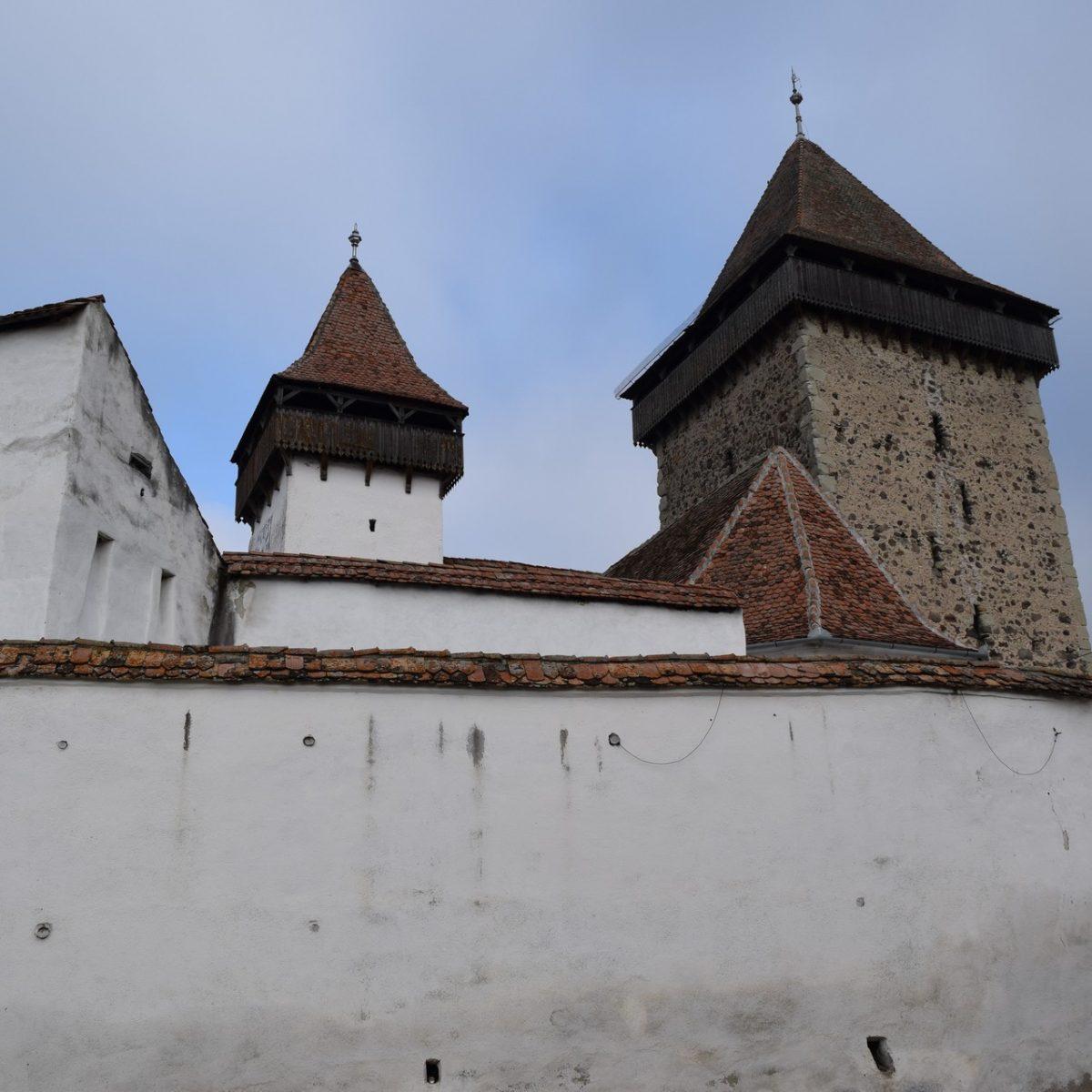 Eglise fortifiée d'Homorod. Brasov