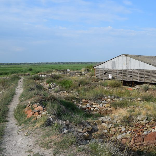 The remains of Halmyris citadel.