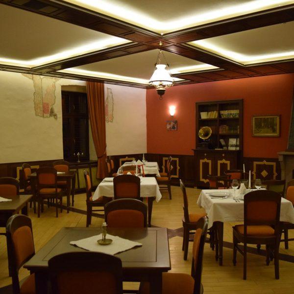 Restaurant du chateau Daniel. Brasov
