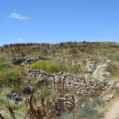 La citadelle Argamum.