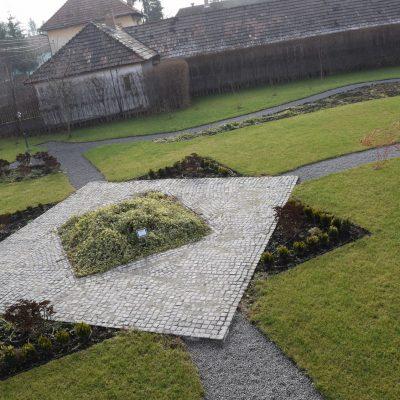 Jardin du chateau Daniel. Braosv