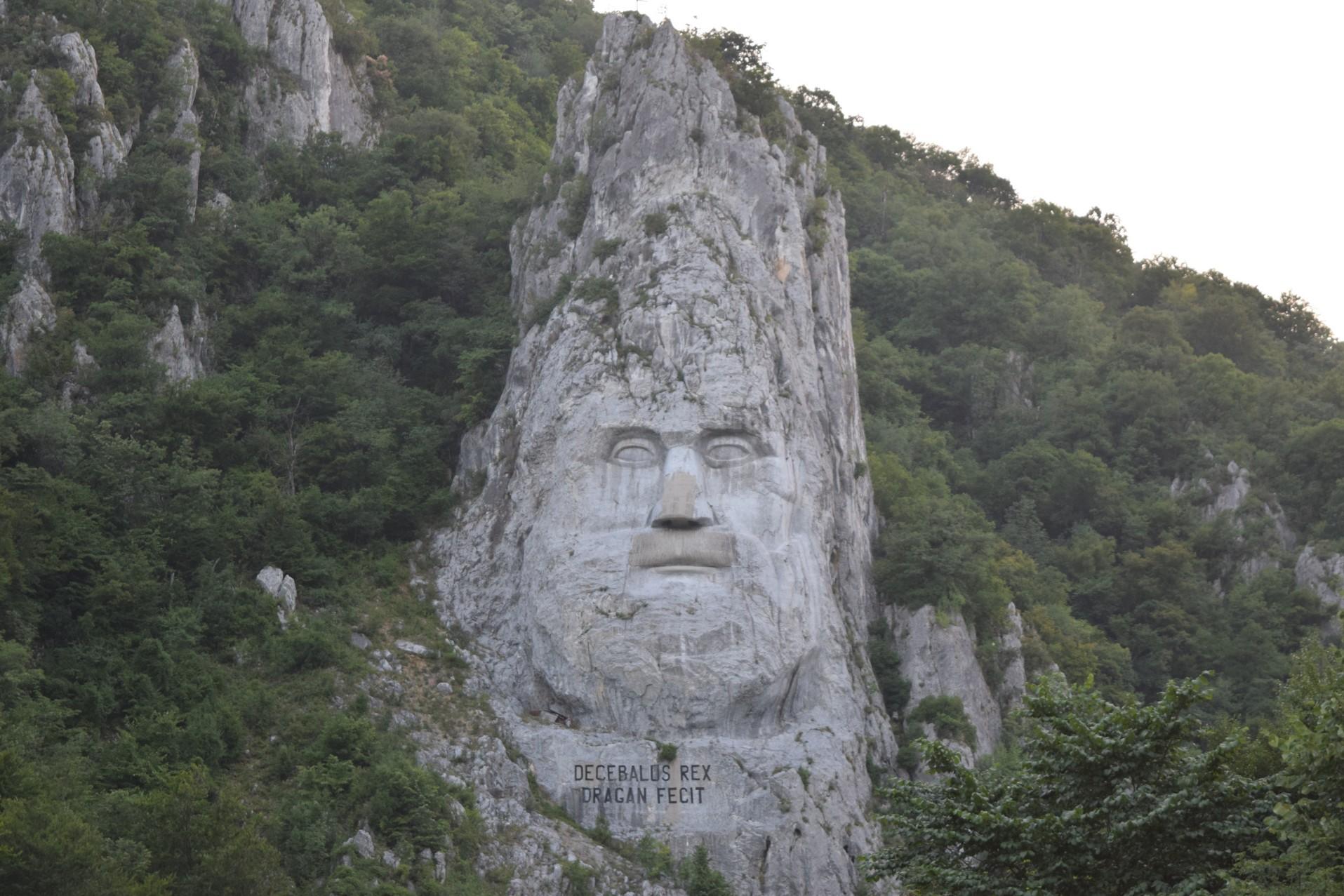 Decebal face