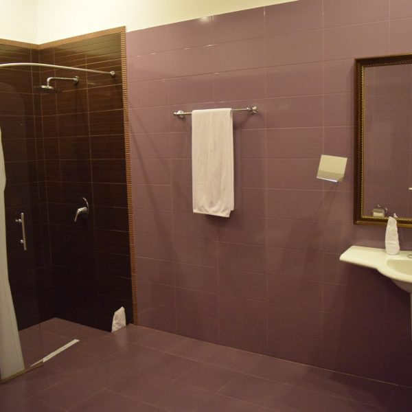 Villa Venus, its bathroom.