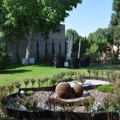 Villa Venus, le jardin.