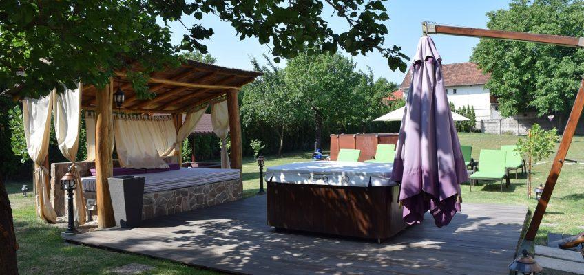 villa Venus jardin