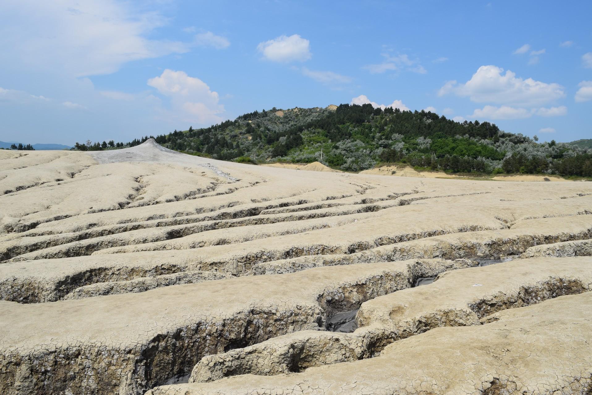mud volcanoes berca