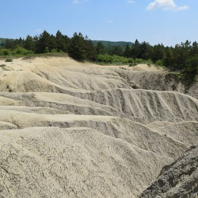 Mud Volcanoes from Berca, in the Buzau county.