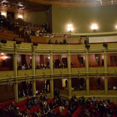 The Bucharest Opera.