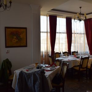 Salon de Casa Domneasca, à Curtea de Arges.