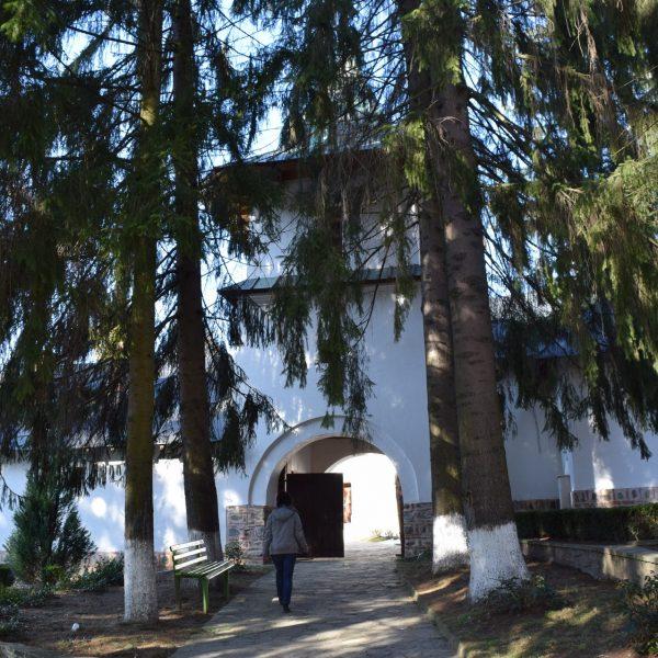 Le monastère de Robaia, dans l'Arges.