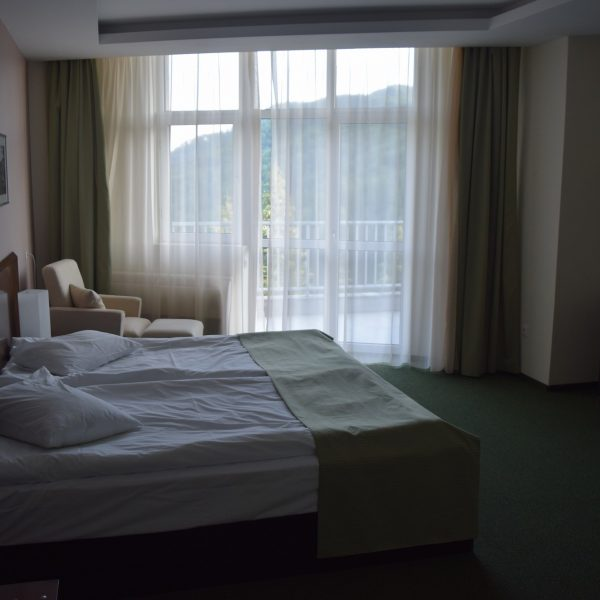 Room of the Balvanyos Hotel.