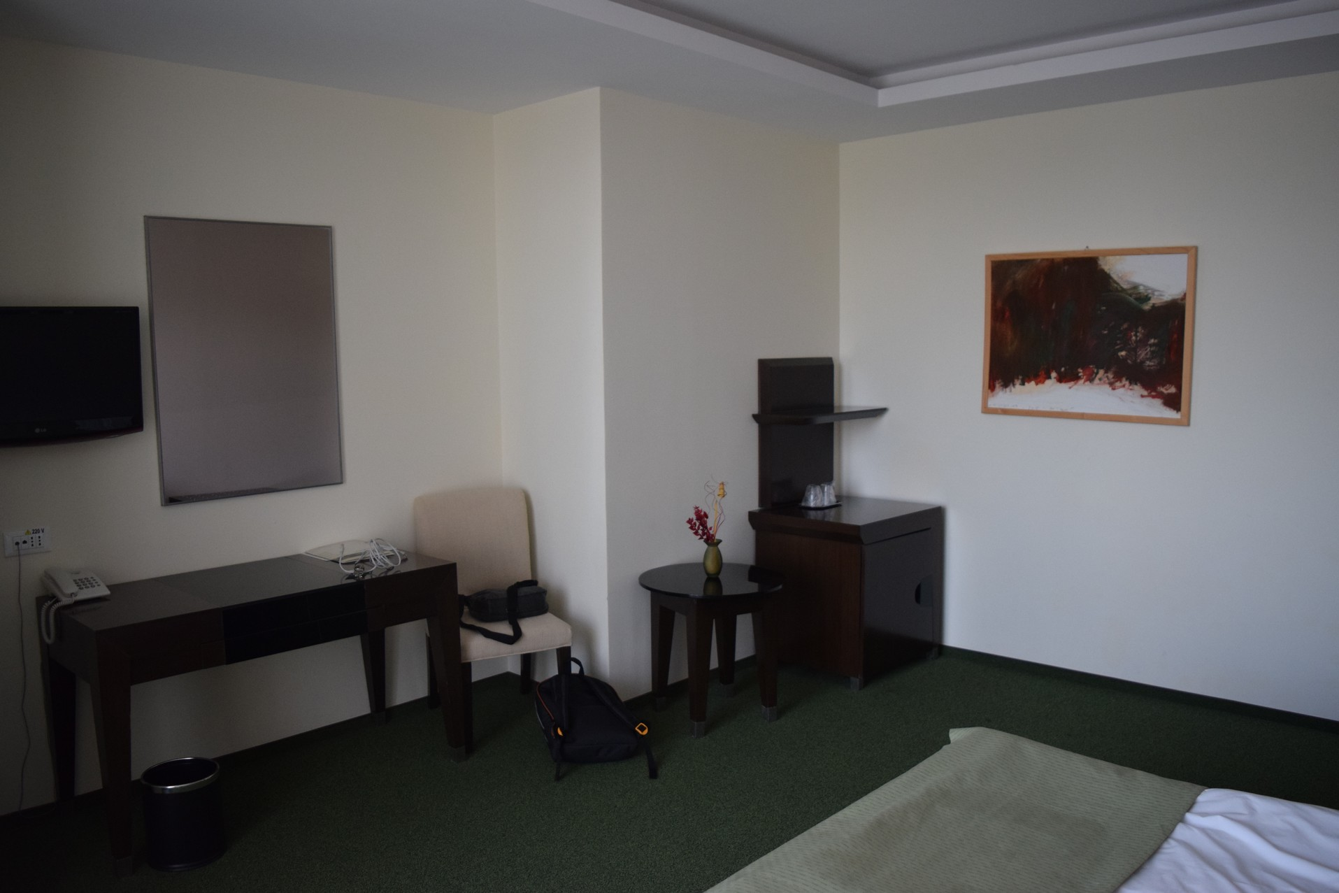 Balvanyos hotel room
