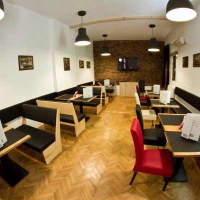 GUXT Bistro, in Bucharest.