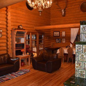 La Villa Honor, beau chalet de chasse dans les forêts de Harghita