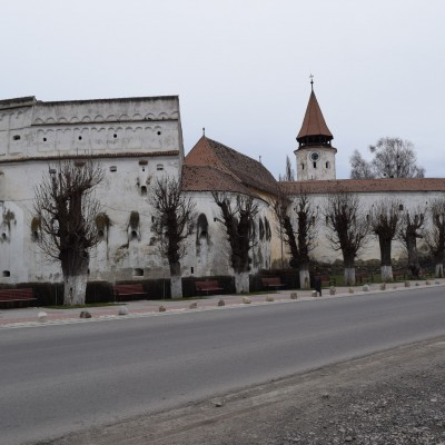 The fortified church of Prejmer.
