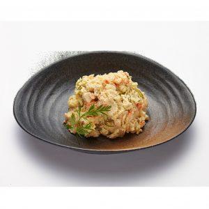 La salade de pomme de terre du Restaurant Yuki.